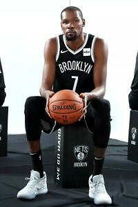brooklyn nets kevin durant poster (24x36 inches)