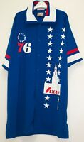 Philadelphia 76's NBA vintage warmup jersey 1970's Mitchell & Ness Size 56