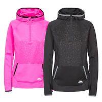 Trespass Womens Long Sleeve 1/2 Zip Pullover Gym Top Active Workout Lalita
