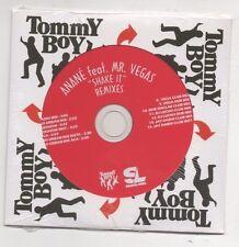 Anane Feat. Mr. Vegas Shake it Remixes Ultra rare CD Promo Bob Sinclar & Vega