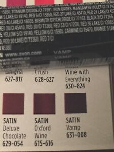 Avon True Colour 'Satin' Lipstick~VAMP~BRAND NEW & Sealed