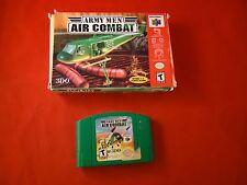 Army Men: Air Combat (Nintendo 64, 2000) N64 w/ Box game WORKS!