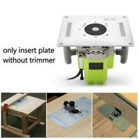 Aluminium Alloy Electric Table Insert Plate For Router Woodworking 300*235* H5F9