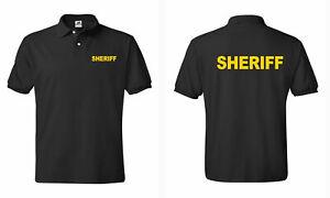 Sheriff- Law Enforcement Polo T shirts S-5XL
