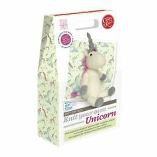 Crafty Kit Company Knit Your Own Unicorn - a Complete Knitting Set With Everythi