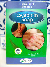Scabies Mites Soap Bar with Neem Seed Oil & Sulfur 3 oz