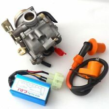 49CC 50CC SCOOTER MOPED GY6 19mm CARBURETOR CARB RACING CDI IGNITION COIL