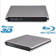 External USB 3.0 Blu-ray Player BD-RE DVD CD RW Burner Writer SuperDrive HD