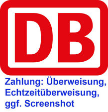 DB Freifahrt mytrain Deutsche Bahn Ticket Gutschein ICE Fahrkarte + Freitag