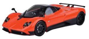 PAGANI ZONDA F ORANGE 1:18 DIECAST CAR MODEL BY MOTORMAX