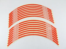 Reflective Motorcycle Rim Tape Red - Yamaha R25 MT-01 MT-03 MT-07 MT-09