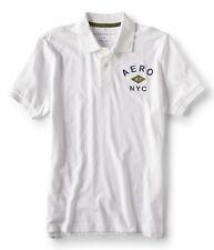 Aeropostale Men's Plain Polo Shirts with  Logo Aero NYC