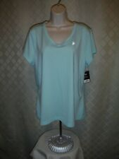 Short Sleeve V Neck Active Stretch T-Shirts size Xx,Xl,Fila Pink Neon,Mint Green