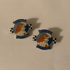 2 x Sussex Police Search Wing Eagle Falcon Pin Badge