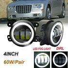 Fit for Chrysler 300 2005 Clear Lens Pair Bumper Fog Light Lamp Replacement DOT  for sale