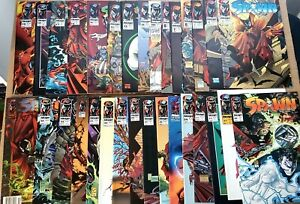 SPAWN - Lot of 30 Image Comics ~ Todd McFarlane 1992-'96 #'s 3-8/#10-14 /#16-34