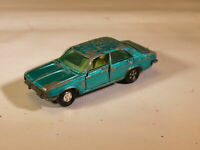Vintage 1970's Majorette No 208 Chrysler 180 Saloon Metallic Blue Toy Car