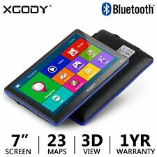 XGODY 886 7'' 8GB Truck Car GPS Navigation System Sat Nav Bluetooth Free Maps