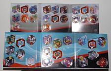 Los discos de potencia completa de Disney Infinity 1.0 álbumes y todos los discos de alimentación onda 1 y 2.