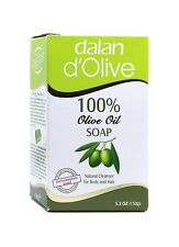 DALAN D'OLIVE 100% Olive Oil Soap Natural Cleanser For Body And Hair 5.3 Oz