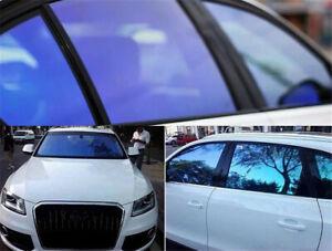 55%/65%80%VLT Car Chameleon Window Tint Film 3pcs Packs Sheets Car Decor Sticker