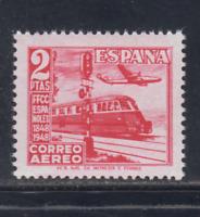 ESPAÑA (1948) NUEVO SIN FIJASELLOS MNH - EDIFIL 1039 (2 pts) TREN - LOTE 2