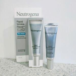Neutrogena Rapid Wrinkle Repair Anti-ageing Eye Cream 14ml Free Post New In Box