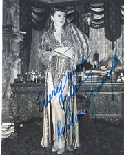 """VINTAGE """"DOUBLE INDEMNITY""""ACTRESS: BARBARA STANWYCK SIGNED PHOTO"""