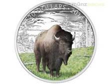 20 $ Dollar Majestic Animals Benevolent Bison Kanada 1 oz Silber PP 2016