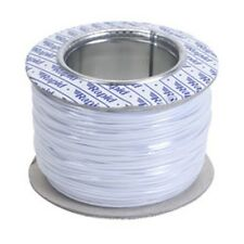Model Railway/Railroad Layout/Point Motor Wire - 100m Roll 1/0.6mm 3A White -T48