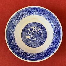 Small Bowl, Willow Ware by Royal China, Delft, B-53, England, Underglaze