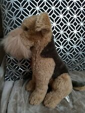 Dan Dee Soft Plush Collector's Choice Airedale Terrier Puppy Dog Stuffed Animal