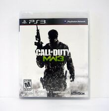 CALL OF DUTY: MODERN WARFARE 3 Playstation 3 PS3 Game COMPLETE w/MANUAL 2011