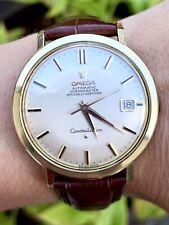 Vintage Omega Constellation Chronometer Cal. 561 14K Gold & Stainless 1960's 24J