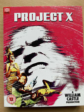 Project X Blu-Ray 1967 William Castle Sci-Fi Kult Film Klassisch W/Schonbezug