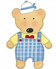 New listing Bear Sizzix Bigz Die 655436 from the Animal Dress-ups Line New!
