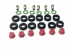 FUEL INJECTOR REPAIR KIT O-RINGS FILTERS GROMMETS CAPS 3000 GT STEALTH TURBO