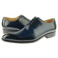 Olive Dress Shoes KS503-36 Carrucci Men/'s Leather Whole Cut Oxford