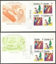 CANADA 1975 CHRISTMAS 8C STAMPS FIRST DAY OF ISSUE DATE COVERS.PHILATELIC WNPG