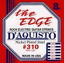 New D'Aquisto Ultra Lite Electric Strings  8-39 - #310
