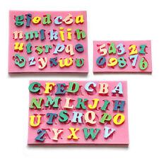 3 stk/set Buchstabe & Zahl Ausstecher Ausstechformen Schokolade Kuchen Back form