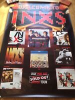 INXS Welcome to INXS / Get out of the house tour (promo fly poster 60 x 40)
