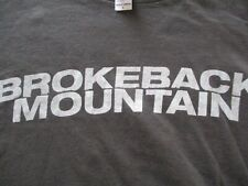 BROKEBACK MOUNTAIN Heath Ledger Jake Gyllenhaal New Promo Large T-Shirt