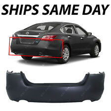 NEW Primered - Rear Bumper Cover for 2013 2014 2015 Nissan Altima Sedan 13 14 15