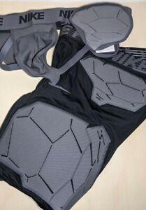 NWT Nike Pro Hyperstrong Compression Jock Strap and Shorts Set XL AQ0750 AQ0751