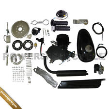 DIY 80cc 2-stroke Gas Engine motor kit Motorized Bike New Black