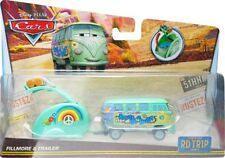 Disney / Pixar Cars RD TR1P Fillmore & Trailer Diecast Car [Road Trip]