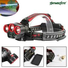 Skywolfeye XML 5 LED Head Lamp USB Rechargeable Light Torch for Expedition OE