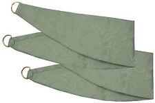 Jacquard floral del damasco Verde Tiebacks Para Combinar Con Cortinas