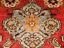 ANTIQUE  1910 TURKISH  SMALL  RUG FULL PILE  EXCELLENT